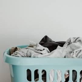 Wäschekorb waschen